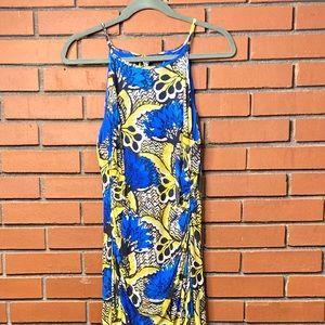 Nine West Mesh Knit Maxi dress